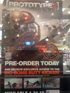 Gamestop Window Display